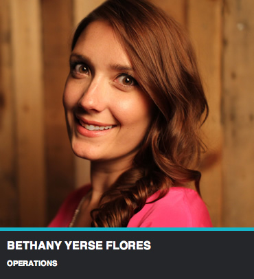 Bethany Yerse Flores - Operations